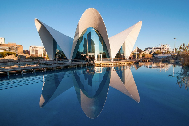 Residencial junto al puerto de Valencia